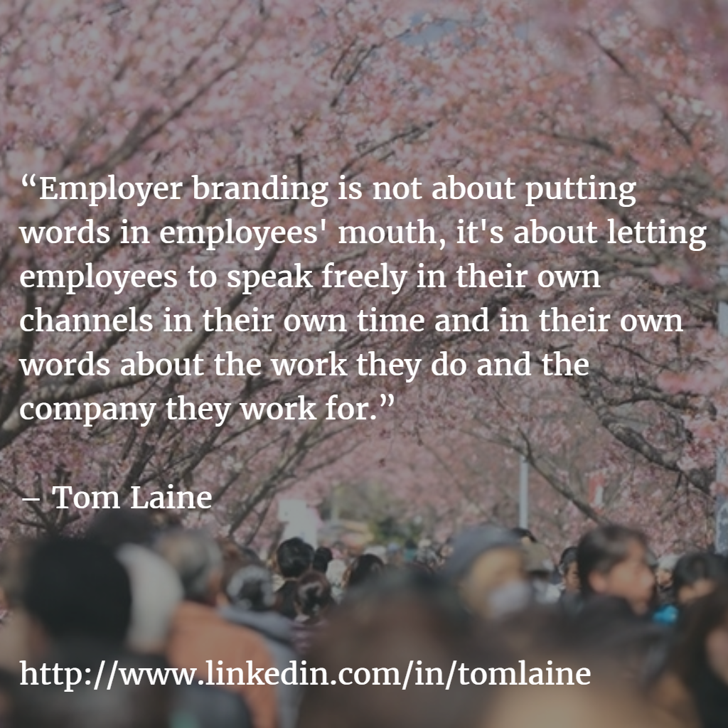 Employer branding is about letting employees speak MEEMI