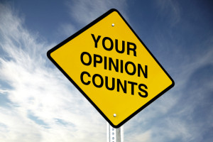 Your opinion counts iStock_000028996284Small
